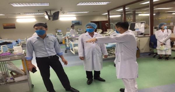 Kiểm tra công tác khám, chữa bệnh và phòng chống COVID-19 tại Viện Huyết học - Truyền máu TW