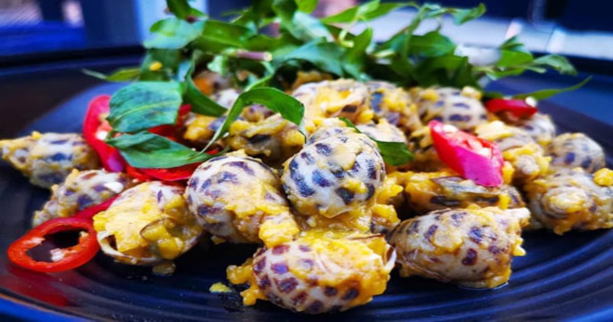 Ốc hương sốt trứng muối và các món hải sản ngon khi vi vu đến Vũng Tàu