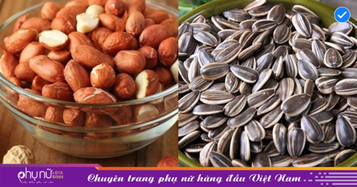 7 loại hạt ăn vặt lúc buồn mồm có khả năng chống lão hóa, tăng sinh collagen hiệu quả dành cho các chị em