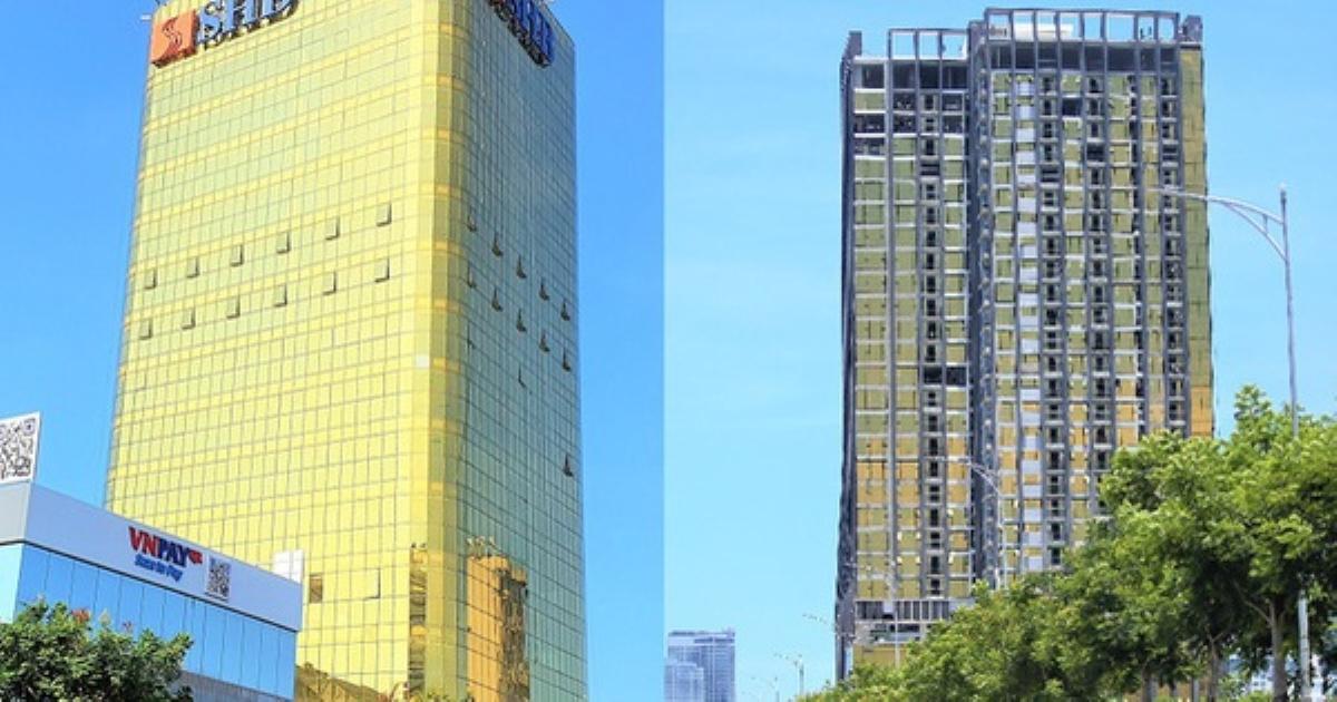 Chủ đầu tư của 2 cao ốc dát vàng gây nhức mắt, khiến người dân bức xúc ở Đà Nẵng bị phạt 80 triệu đồng