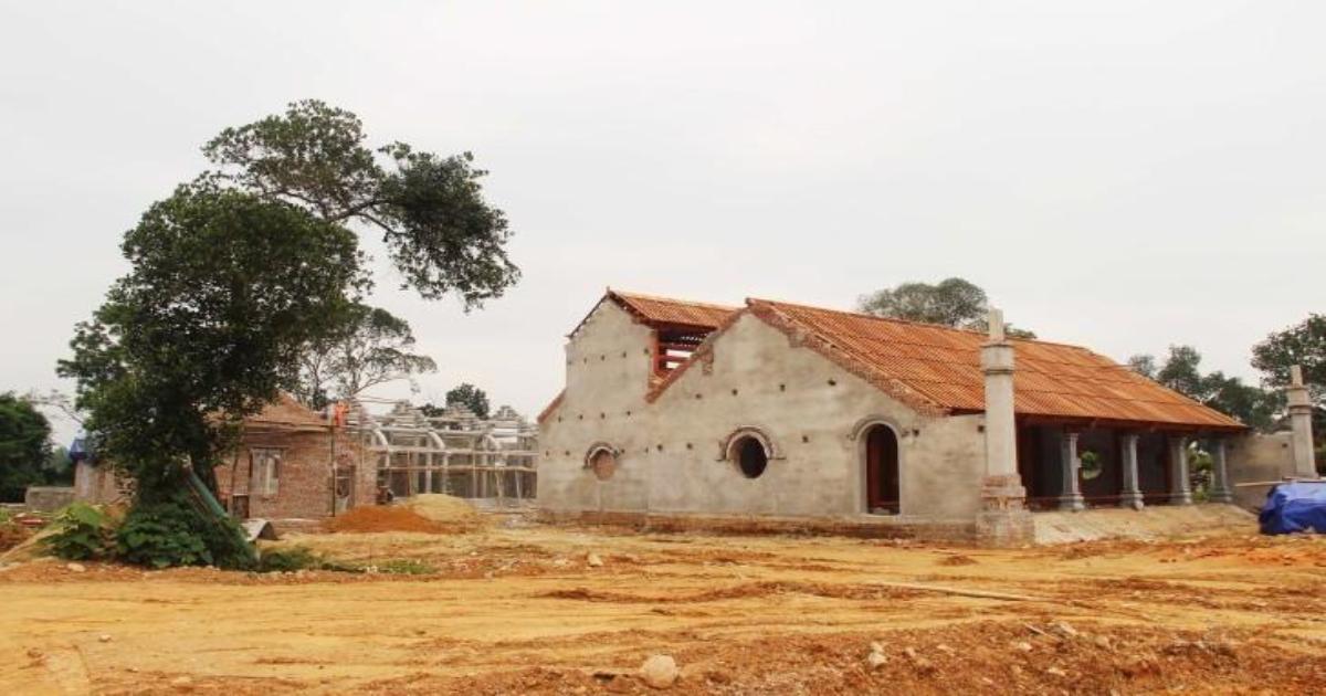 Nghệ An: Phạt 110 triệu đồng, buộc tháo dỡ công trình chùa xâm lấn đất di tích quốc gia