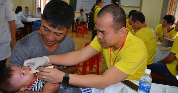 Phẫu thuật sứt môi, hở hàm ếch cho hàng trăm trẻ em nghèo Tây Nguyên