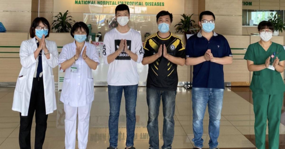 Tiếp tục có 5 bệnh nhân mắc COVID-19 được công bố khỏi bệnh