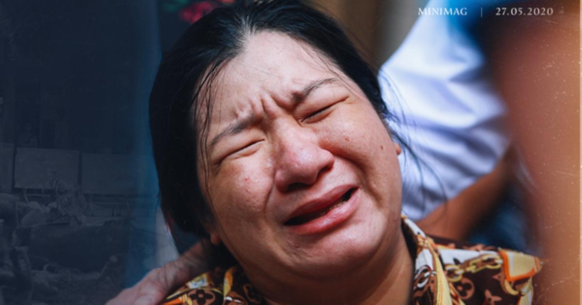 Bé trai tử nạn do cây đè: Mẹ về cho em bú. Mẹ sẽ chăm, thương em bằng cả tình thương của con nữa