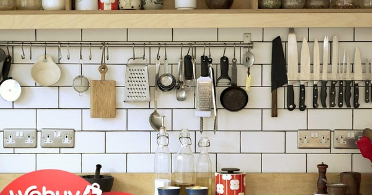 Cải tạo căn bếp nhỏ, đây là những món đồ chị em nhất định phải dùng để dù lắm đồ lỉnh kỉnh thế nào cũng vẫn đâu vào đấy