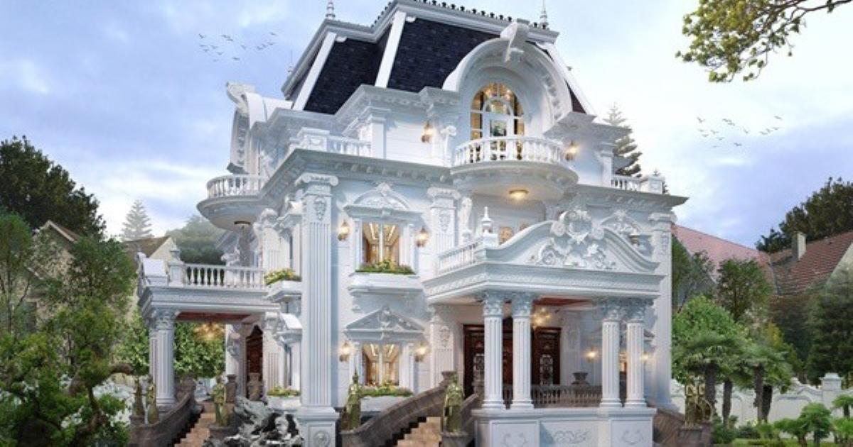 Những mẫu biệt thự 3 tầng đẹp nổi bật, ai đi qua cũng phải ngước nhìn