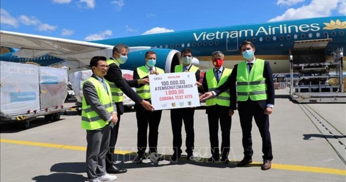 Lãnh đạo thành phố Leipzig, Đức đánh giá cao sự hỗ trợ của doanh nghiệp Việt Nam trong cuộc chiến COVID-19