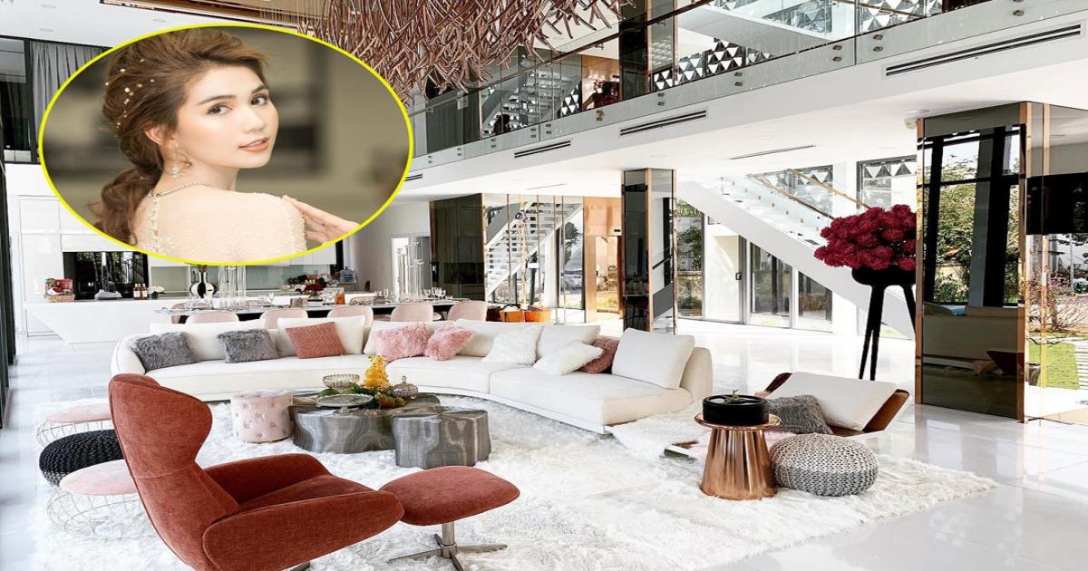 Đột nhập mọi ngóc ngách xa hoa trong căn biệt thự 50 tỷ của Nữ hoàng nội y Ngọc Trinh