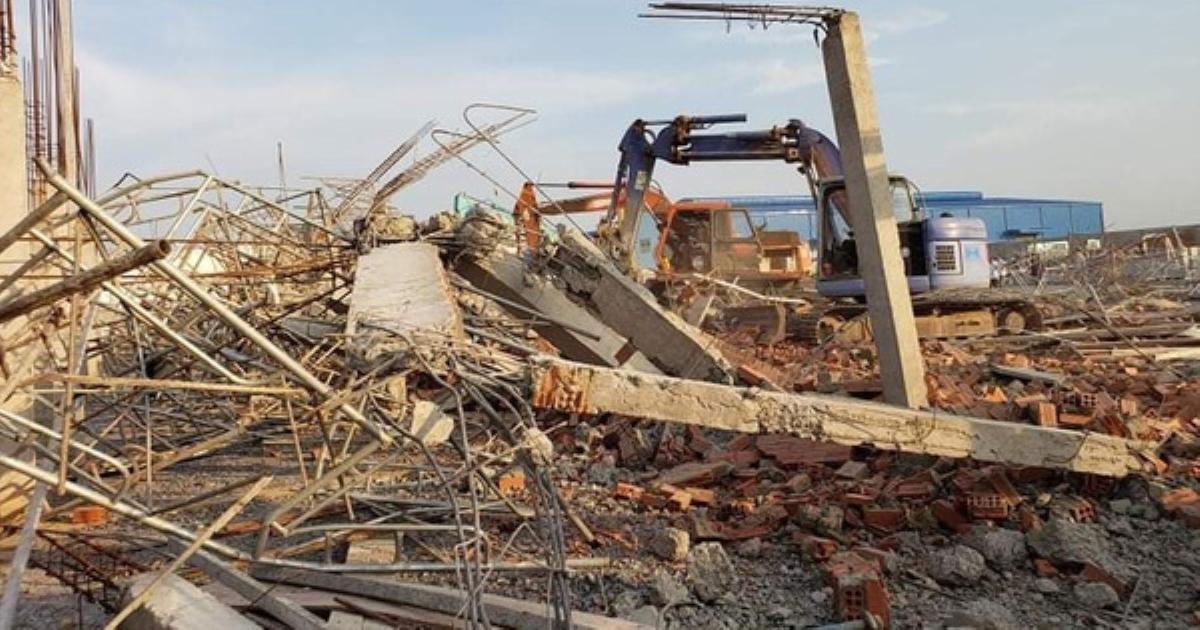Khởi tố, bắt tạm giam giám đốc công ty TNHH Hà Hải Nga trong vụ sập tường thi công khiến 10 người chết ở Đồng Nai