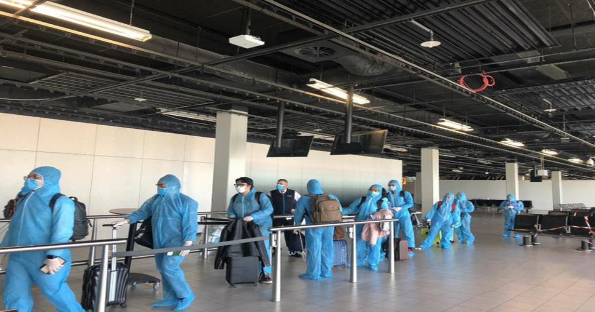 Tiếp tục đưa hơn 300 công dân Việt Nam từ châu Âu và châu Phi về nước an toàn