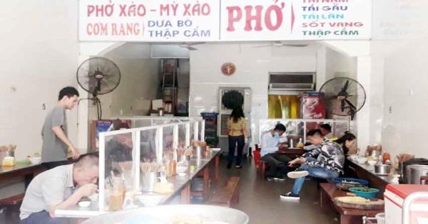 Hà Nội: Nhà hàng, quán ăn không được phục vụ cùng lúc quá 20 người
