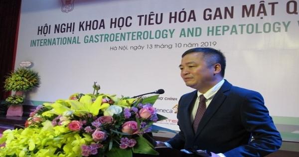 Nhiều ứng dụng mới về điều trị trong lĩnh vực tiêu hoá gan mật