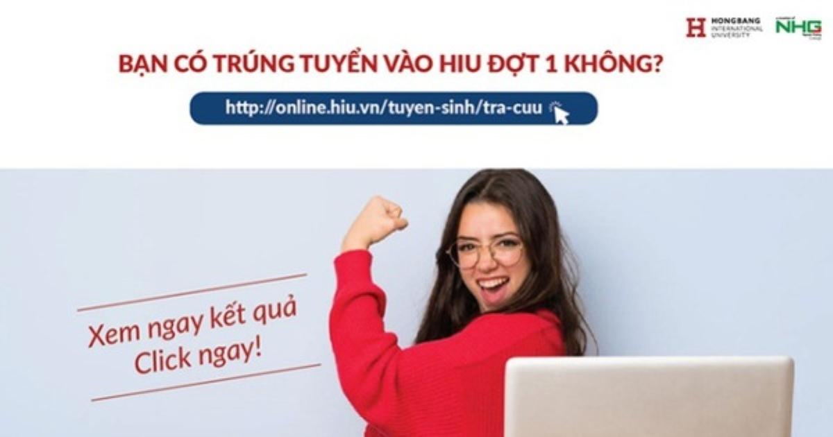 HIU nhận hồ sơ đăng ký xét học bạ đợt 2 đến ngày 30-6