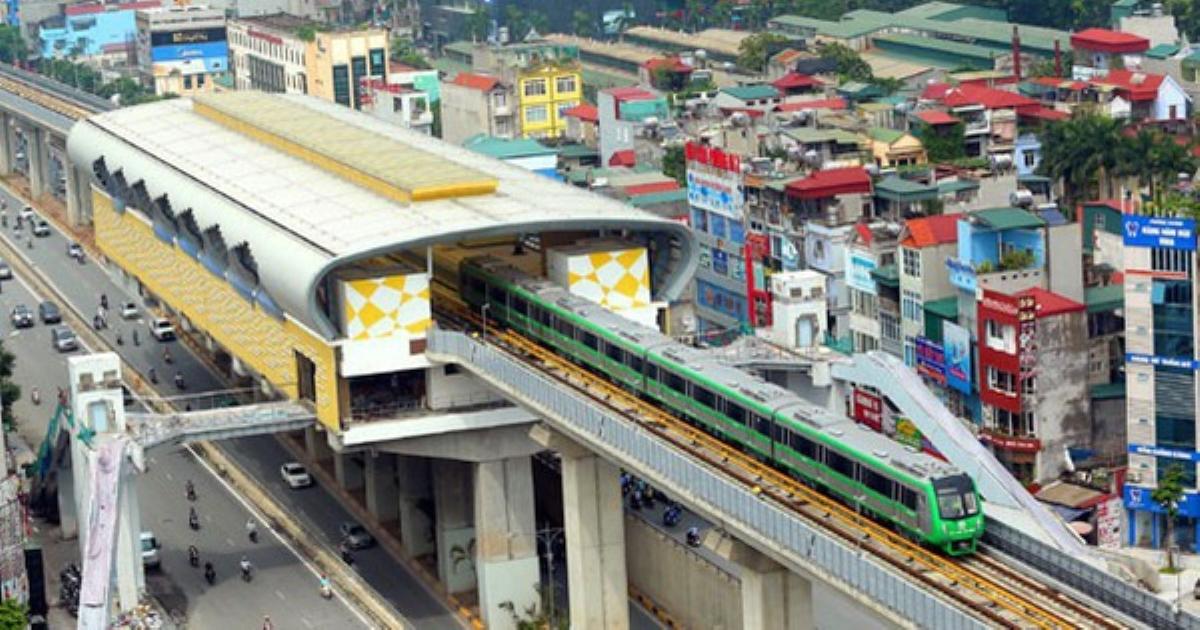 Hà Nội đề xuất xây 2 tuyến đường sắt 100.000 tỷ đồng