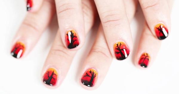 Top 18 mẫu nail cực chất cho mùa Halloween thêm phấn khích