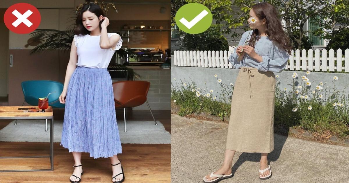 4 lỗi diện chân váy không dìm dáng thì cũng biến các chị thành cô nàng kém duyên nơi công sở