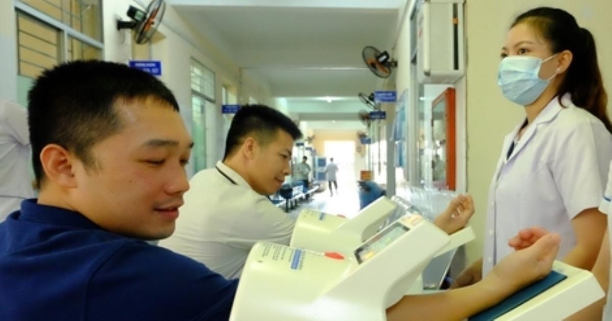 Bệnh viện 199 khám bệnh nghề nghiệp cho cán bộ, nhân viên