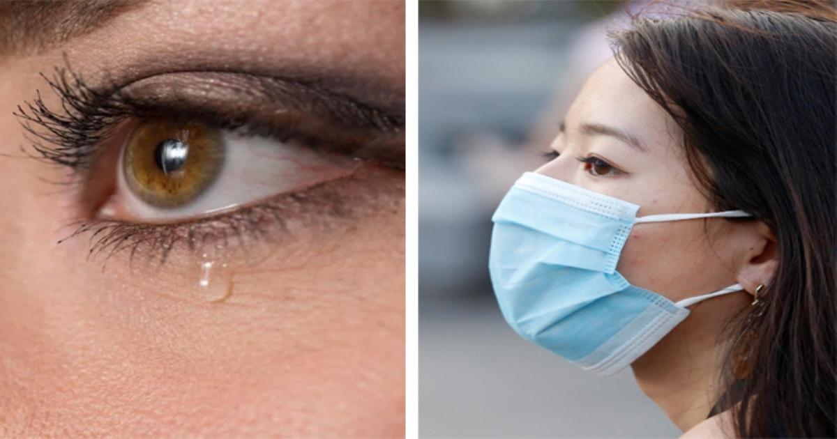 Triệu chứng Covid-19 bộc lộ qua nước mắt của người bệnh