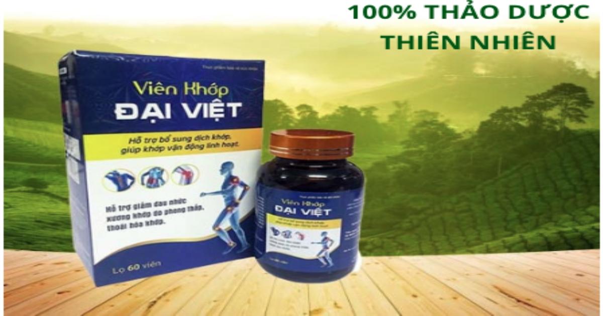 Thực phẩm bảo vệ sức khỏe viên khớp Đại Việt và Res-1000 có dấu hiệu quảng cáo lừa dối người tiêu dùng