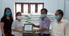 Chủ quán coffee Mai's hỗ trợ 1 tấn gạo ứng phó dịch COVID-19