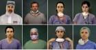 Những bức chân dung của các bác sĩ tuyến đầu chống Covid-19 ở Italy: Nhiều vết hằn trên mặt, mệt mỏi và chẳng thể gượng cười nổi