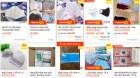 26.400 sản phẩm khẩu trang y tế, nước sát khuẩn vi phạm trên sàn thương mại điện tử bị gỡ bỏ vì lợi dụng COVID-19