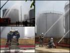 Hà Nội: Cháy giả định bồn chứa xăng 1000m3, cảnh sát nhanh chóng khống chế