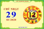 Xem tử vi ngày 29/3/2020 chủ nhật của 12 con giáp chi tiết nhất