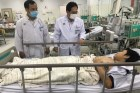Cả 2 học sinh bị thương nặng do cây phượng đè đã khỏe mạnh