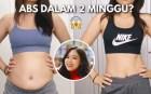 Chỉ sau 2 tuần tham gia Chloe Ting Challenge, bà mẹ trẻ người Philippines lấy lại vòng eo phẳng lì như thời con gái