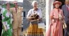 Sặc sỡ như Nữ hoàng Anh vẫn lép vế trước người em họ của bà là Nữ hoàng Đan Mạch: 80 tuổi vẫn diện màu nổi còn chất hơn giới trẻ