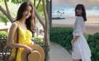 Ngắm Instagram của sao Hàn, bạn sẽ kiếm được kha khá gợi ý váy áo xinh như mộng diện Hè