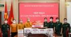 Chùa Ba Vàng ủng hộ Bộ đội Biên phòng tỉnh Quảng Ninh trong công tác phòng, chống Covid-19
