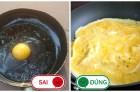 4 sai lầm khi nấu trứng, chị em cần bỏ gấp kẻo rước bệnh cho cả nhà
