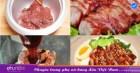 Cho thịt vào nồi cơm điện rồi bật nút nấu như bình thường, 30 phút sau có món thịt nướng ngon miễn chê!