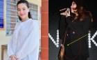 Style bầu bí của Hà Hồ: Lần 1 năng diện đồ bó, lần 2 chỉ chuộng đồ rộng, riêng chiêu dùng phụ kiện che bụng là không thay đổi
