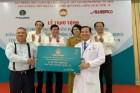 Trao tặng Bệnh viện Nhân dân 115 xe cứu thương hơn 5 tỉ đồng để chống dịch COVID-19