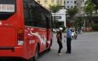 Thanh tra GTVT Hà Nội phối hợp với báo chí xử lý vi phạm trật tự an toàn giao thông