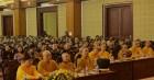 Học viện Phật giáo Việt Nam tại Hà Nội tổ chức lễ cầu nguyện Quốc thái Dân an