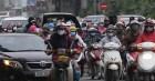 Đường phố Hà Nội bất ngờ đông đúc ngày đi làm đầu tuần