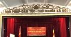 Hội nghị phổ biến pháp luật Tín ngưỡng, Tôn giáo