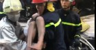 Vụ giải cứu 7 người trong căn nhà bốc cháy ở Sài Gòn: 1 người đã tử vong