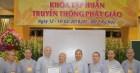Dấu ấn khóa tập huấn Truyền thông Phật giáo và nghiệp vụ thư ký văn phòng