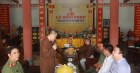 Tăng Ni trường hạ chùa Thánh Long, Thái Bình nghe phổ biến về tôn giáo