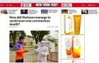 New York Post ca ngợi thành tích chống Covid-19 của Việt Nam