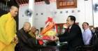 Ông Trần Thanh Mẫn chúc mừng Lễ Phật đản tại tỉnh Quảng Trị