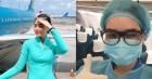 Nữ tiếp viên hàng không đưa 172 du học sinh mắc kẹt về nước: 12h đêm hạ cánh, vỡ oà khi hành khách thốt lên Đã được về nhà rồi