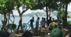 Phát hiện thi thể nam giới nổi trên Hồ Tây