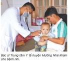 Trung tâm Y tế huyện Mường Nhé, Điện Biên làm tốt công tác phòng chống dịch