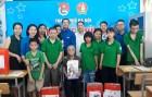 Thành đoàn Hà Nội thăm, tặng quà học sinh của bà giáo Hồ Hương Nam